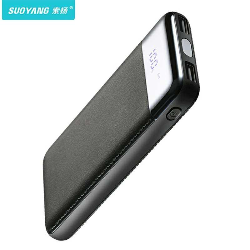 30000mah قوة البنك بطارية خارجية PoverBank 2 USB LED تجدد Powerbank المحمولة الهاتف المحمول شاحن هواتف xiaomi iphone XS ماكس 8 8plu