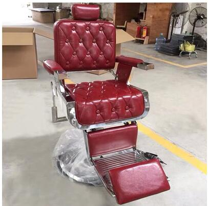 Barber Chair Lift Down Hairdressing Chair Beauty Salon Chair Factory Direct Shampoo Chair Head Massage Massage Hair Chair