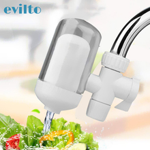 Kitchen Water Faucets Filter Washable Ceramic Faucrs Mount Tap Water Purifier Filtro Rust Bacteria Removal with Filter Tube