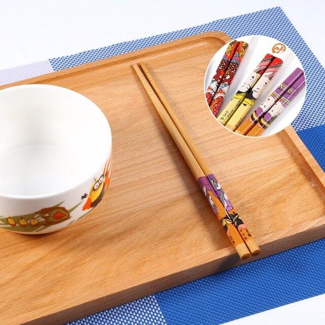 Фото 10 парт/компл дешевые японские натуральные бамбуковые палочки цена