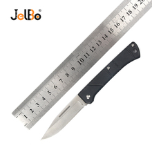 JelBo Multifunction Pocket Knife Hunting Folding Blade Mini Survival Tactical Outdoor Camping Portable Knives Black