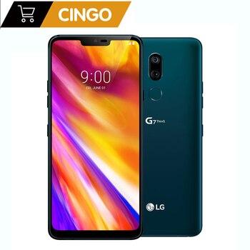 Купить Разблокированный оригинальный мобильный телефон LG G7 ThinQ G710ULM/G710VM/G710EAW/G710N 6,1 дюйм4 Гб + 64 Гб/6 ГБ + 128 Гб двойная задняя камера LTE отпечатков пальцев