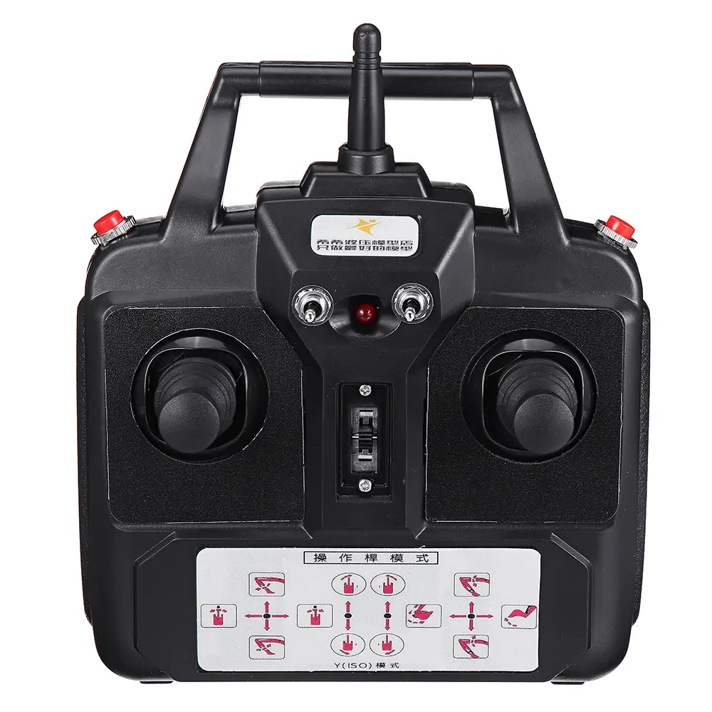 Upgrade Huina 15CH Modified 2.4G Transmitter DC 3V Radio Automatic Frequency For HUINA 1550 1:14 RC Excavator Parts