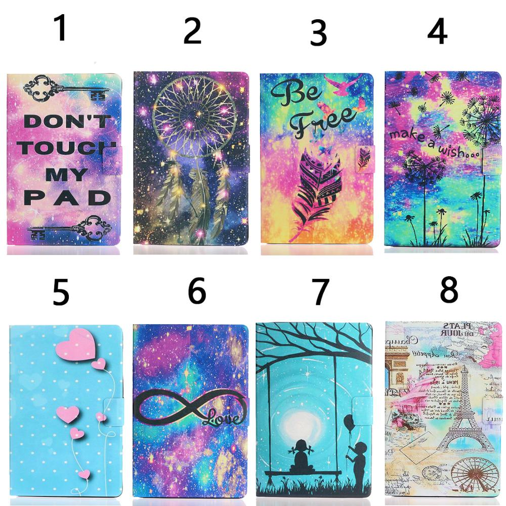Random One Gold For iPad Pro 11 inch 2020 Case Cheap PU Leather Painted Smart Folio Case for iPad