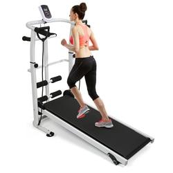 جهاز تمارين اللياقة البدنية المنزلية لعام 2020 جهاز سير ميكانيكي قابل للطي 3 في 1 متعدد الوظائف معدات اللياقة البدنية الصامتة ملحقات HWC