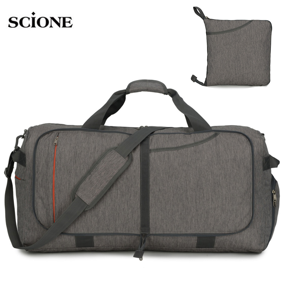 Sports Luggage Foldable Bags Gym Bag Fitness Shoulder Crossbody Men Travel Handbag Lightweight 45L 65L 85L 100L Bag Sport XA108A