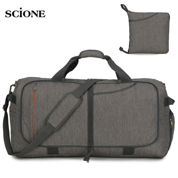 Sports Luggage Foldable Bags Gym Bag Fitness Shoulder Crossbody Men Travel Handbag Lightweight 45L 65L 85L 100L Sport XA108A - discount item  40% OFF Sport Bags