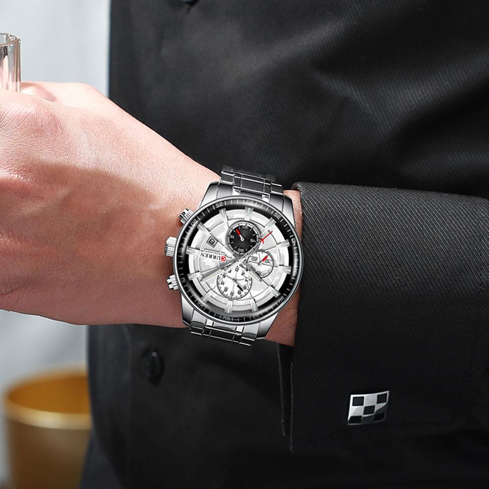 H455004e0696c4c6c89d89fb5042540f3j Men's Watches CURREN Top Luxury Brand Fashion Quartz Men Watch Waterproof Chronograph Business Wristwatch Relogio Masculino