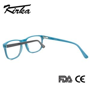 Image 4 - Kirka Men Glasses Frame Optical 2020 Vintage Men Clear Lens Prescription Spectacles Acetate Eyewear Eyeglasses Frame For Men