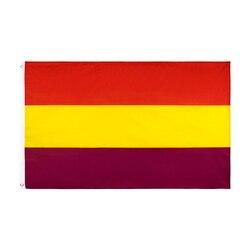 Yehoy 90*150cm segunda bandeira da república espanhola de espanha império