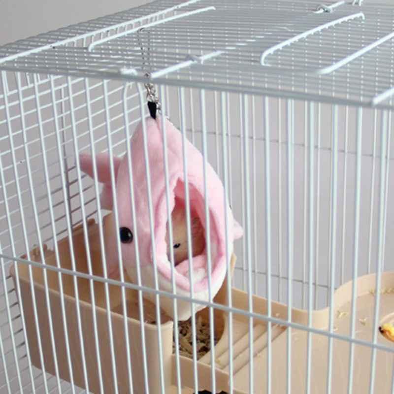 Golfinhos forma quente pequeno animal de estimação dormir cama ouriço hamster cobaia gaiola de suspensão