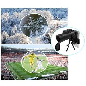 Image 2 - TOKOHANSUN 40X60 המשקפת טלסקופ זום עדשה עבור iPhone Smartphone נייד מצלמה עדשה עם מצפן לקמפינג טיולי דיג