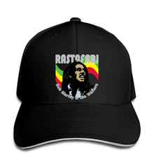 Baseball Cap Bob Marley Music logo Hat Peaked cap(China)