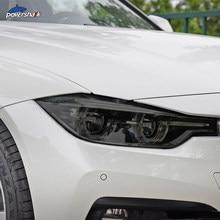 Farol do carro Tint Fumado Preto Película Protetora TPU Adesivo Para BMW F30 F31 G20 F10 F11 G30 F40 F32 F22 F36 F07 F34 G32 G11 G15