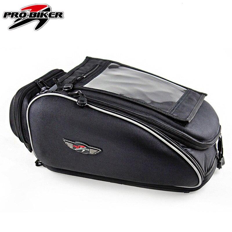 Pro -Biker Genuine Product Motorcycle Knight Ride Luggage Multi-functional Riding Helmet Bag Racing Package Fuel Tank Bag