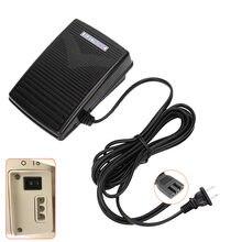 Eu plug 220v домашняя швейная машина педаль управления с шнуром