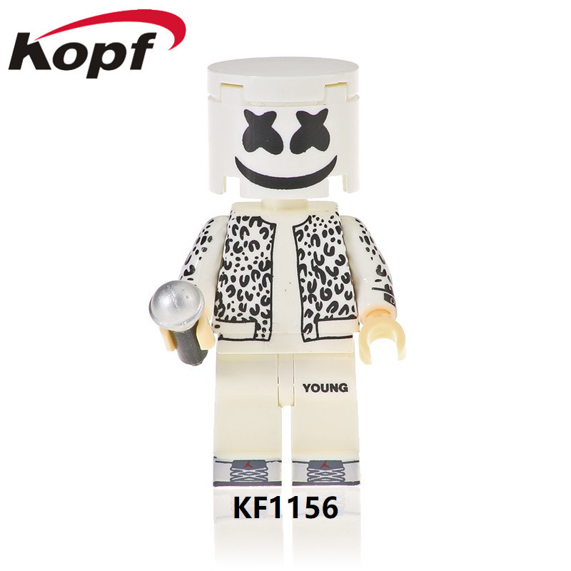 Kefeng <font><b>Kf6089</b></font> (1155-1162) Third-Party Assembled Building Blocks Were Marshmallow Man's Educational Toy Bag image