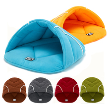 Warm Cat Bed Cave House Slippers Beds Dog Kitten Mat Nest Kennel Soft Sofa Sleeping Bag Mats Cushion For Cats Dogs Suppli