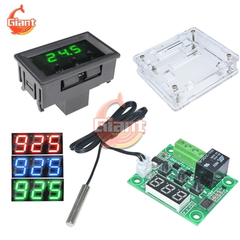 DC 12V W1209WK W1209 Digital Thermostat Temp Thermo Control Module Switch NTC Sensor Meter Case Incubator Temperature Controller image