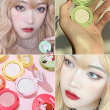 Shimmer Makeup Highlighter Palette Oil-control Brighten Powder Pressed Face Highlighter Cosmetic Highlight Powder Kit недорого