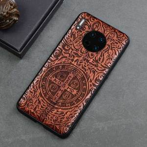 Image 3 - 2019 Nieuwe Voor Huawei Mate 30 Pro Case Slim Wood Back Cover TPU Bumper Case Op Huawei Mate30 Mate 30 pro Telefoon Gevallen