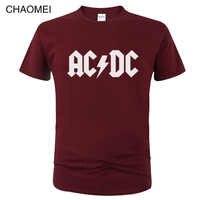 2019 camisetas ac dc heavy metal rock band t camisa masculina acdc t-shirts impressão casual camiseta hip hop manga curta algodão topo c106