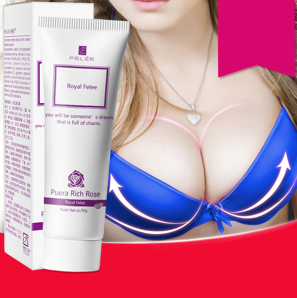 50g Natural Essential Must Up Breast Enlargement Cream Beauty Breast Enlarge Firming Full Elasticity Chest Care