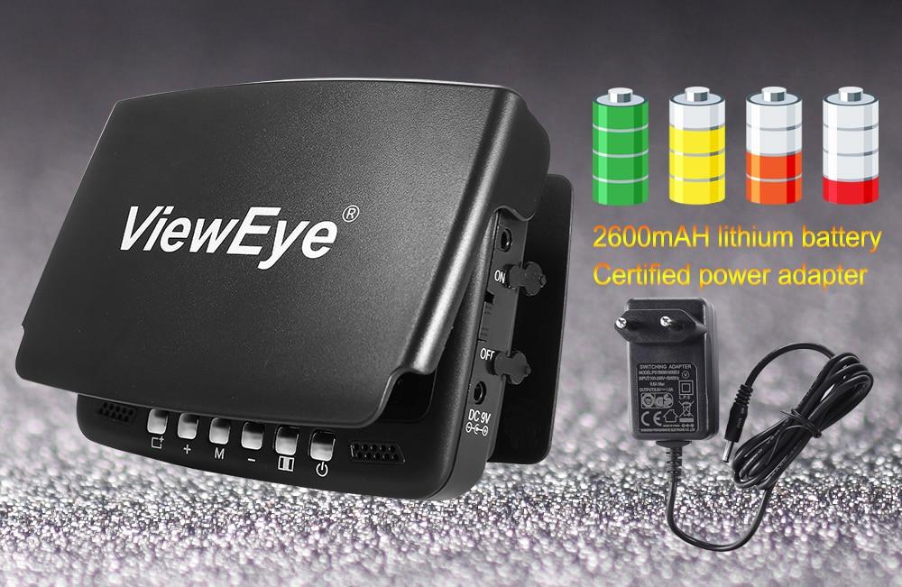 """Видео рыболокатор для подводного льда, видео рыболокатор, камера для рыбалки, 8 шт., инфракрасный светодиодный 4,"""" дюймовый монитор, камера, комплект"""