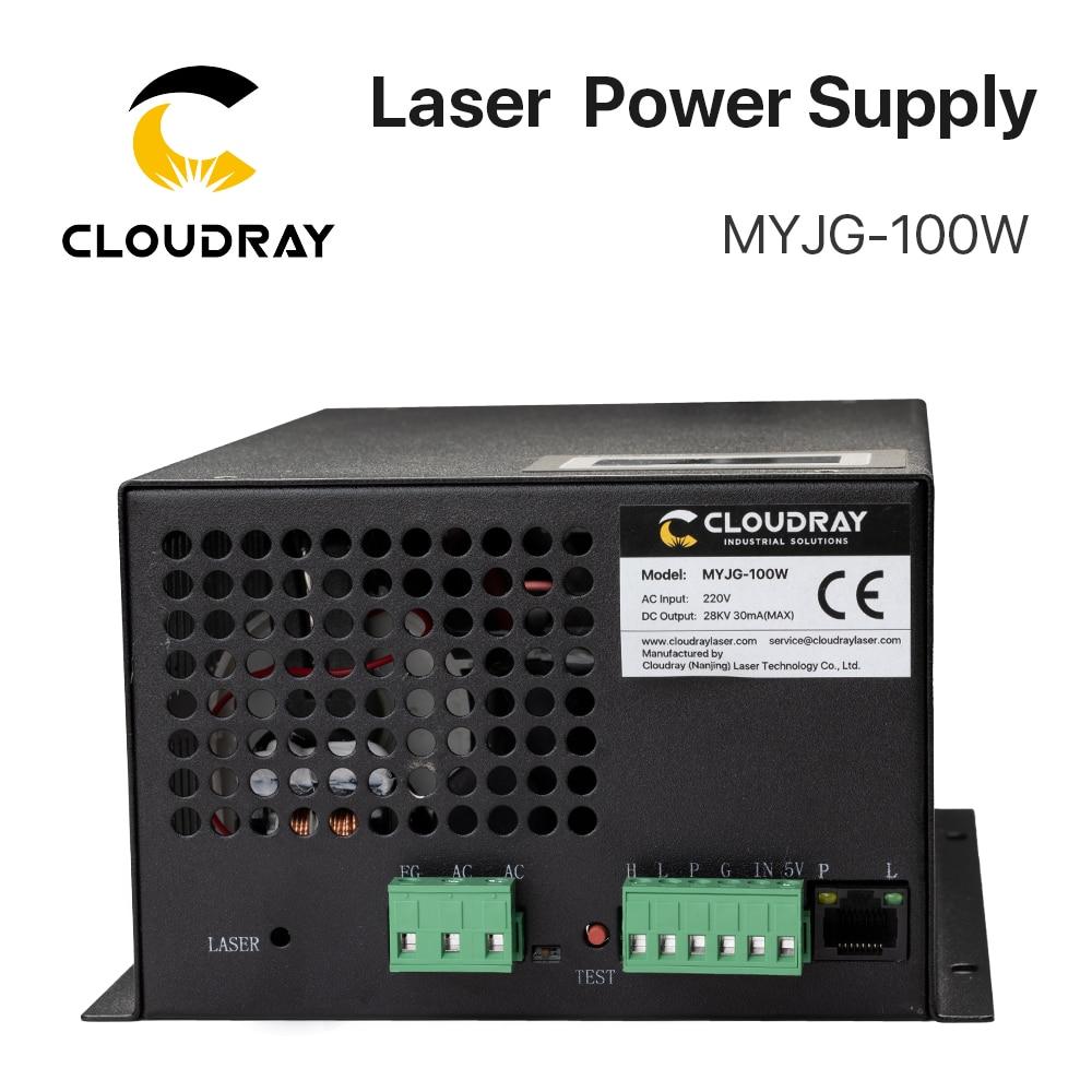 Cloudray 80-100W CO2 laserový zdroj pro CO2 laserové gravírovací - Náhradní díly na dřevoobráběcí stroje - Fotografie 3