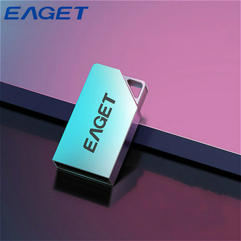Eaget USB 2.0 Pendrive 32GB Waterproof USB Key Metal Case Pen Drive Stylish Mini Flash Disk Memoria USB Memory Stick Flash Drive