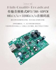 Image 4 - Transmisja sieci IP dekoder dźwięku moduł tablicy sieci IP głośnik kolumnowy dedykowany dekoder internetowy wzmacniacza mocy 2*30W