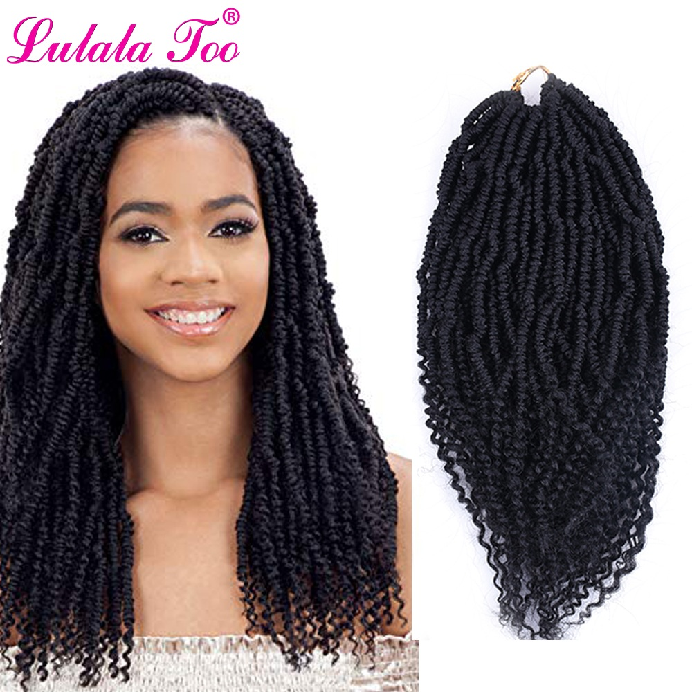 14inch Pre Twisted Passion Twist Hair Crochet Hair Synthetic Ombre Pre Looped Fluffy Spring Bomb Twists Braiding Hair Buy At The Price Of 7 29 In Aliexpress Com Imall Com