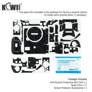 Image 5 - Чехол для Камеры Kiwifotos, защита от царапин, Защитная пленка для Sony A7R IV A7RIV A7R4 A7R Mark IV, черная наклейка 3 м