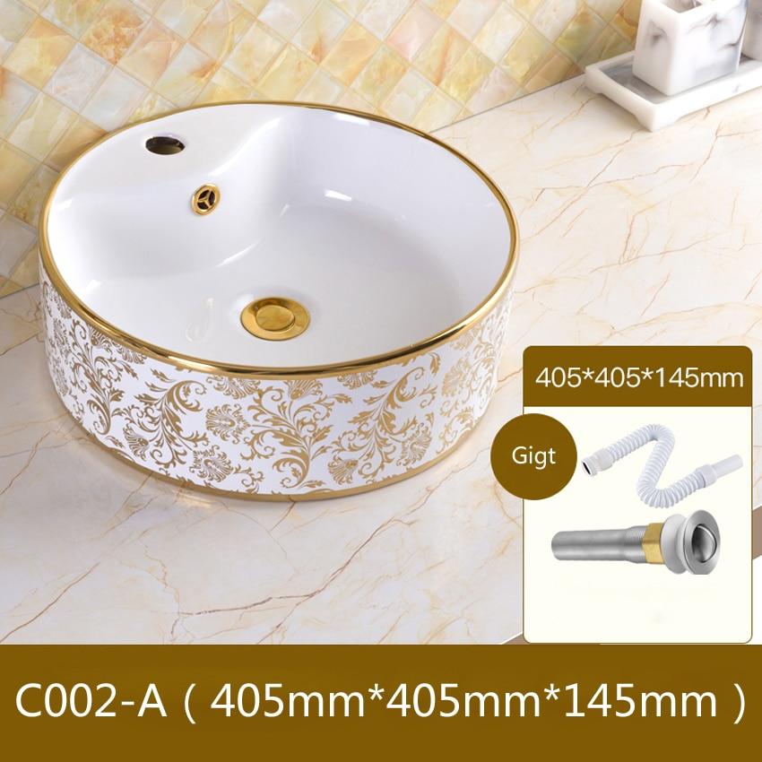 Ceramic Basin Bathroom Sink European