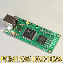 Usb interface digital as318b pcm1536 dsd1024 compatível com amanero itália xmos para i2s