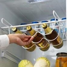 Refrigerator Kitchen Rack Shelf Can Beer Wine Bottle Holder Rack Organizer Kitchen Storage Fridge Organizer Shelves