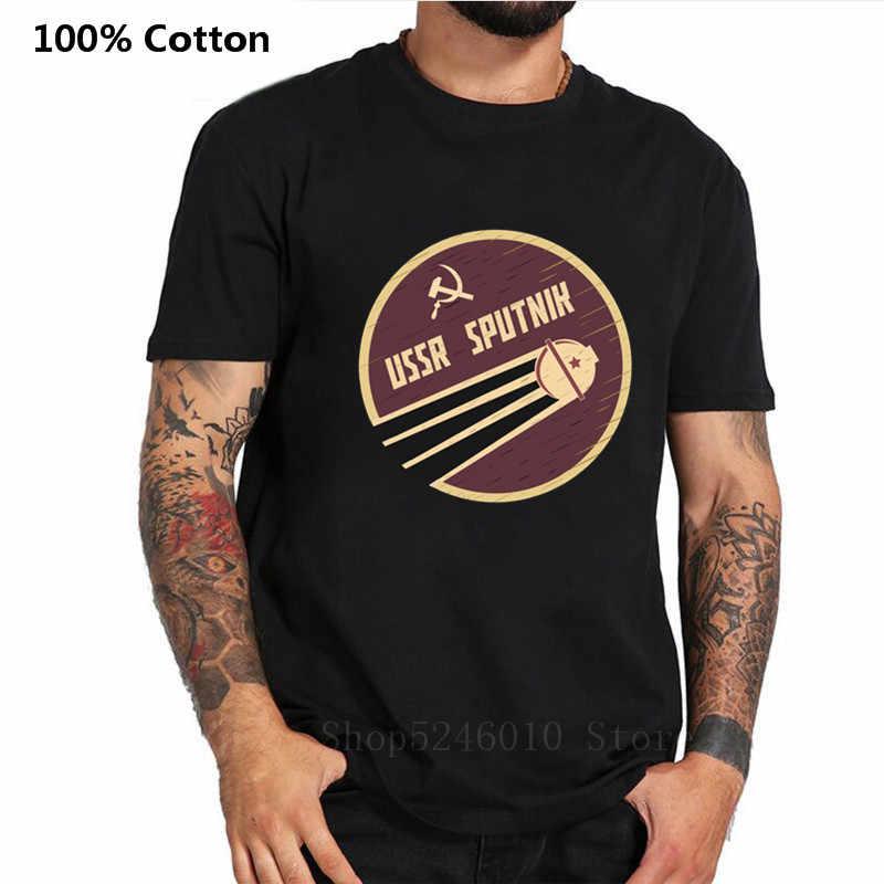 Спутниковый Sputnik V01 Ретро Мужская футболка Yuri Gagarin Россия CCCP космический корабль футболка СССР космонавт занять Марс SpaceX футболки