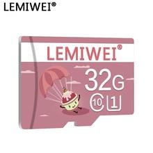 Memory-Card Flash-Card Lemiwei Phone UHS-I Class-10 High-Speed 16GB T U1 32GB 64GB