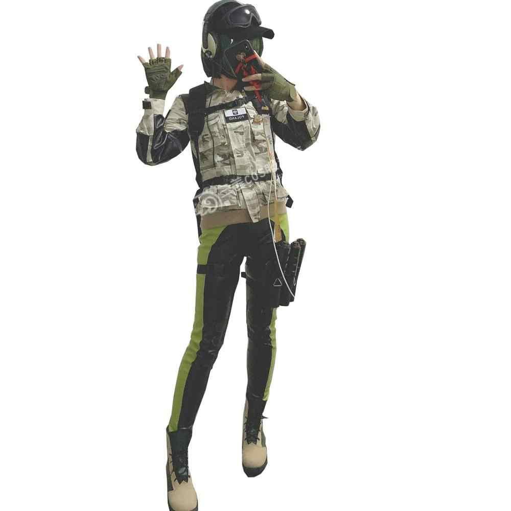 Rainbow Six Siege Halloween Costumes 2020 2020 Tom Clancy's Rainbow Six Siege Elzbieta Bosak ELA Cosplay