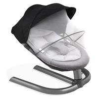 0 3 Baby Safety Swing Bouncer Rocking Chair For Newborn Baby Sleeping Basket Automatic Cradle With Seat Cushion Rocker Chair