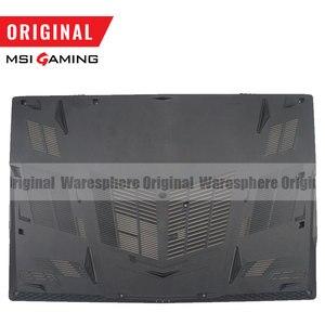 Image 5 - Nouveau Original pour MSI GE73VR 17C7 LCD couvercle arrière/lunette avant/repose main/boîtier inférieur/clavier rétro éclairé américain noir