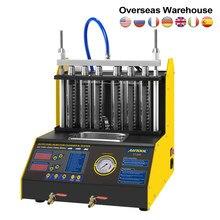 Autool ct200 injector de combustível do carro testador bico mais limpo 220 v/110 v auto motocicleta limpeza ultrassônica pk CNC-602A ct150