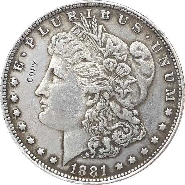 1881-O USA Morgan Dollar Coins COPY