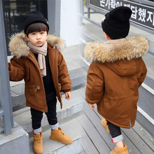 2019 Winter Duck Down Jacket Solid Boys Girls Winter Jacket Kid Warm Outerwear Hooded Coat Snowsuit Winter Overalls For Girl 2018 brand child winter warm print letter jacket kid winter hooded girls school christmas cute outwear kid winter fur coat