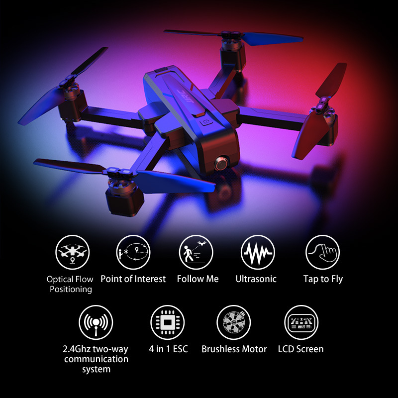 Jjrc X11 Unmanned Aerial Vehicle Model 2K High-definition Camera Brushless GPS Remote Control Four-axis Ultrasonic Positioning M