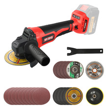 Abeden 125mm Angle Grinder 21V Cordless Rechargeable HY-3010 Cordless 2-stage Variable