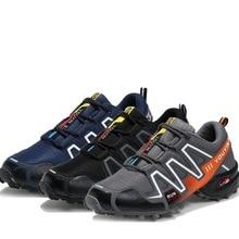 Sneakers Men Hiking-Shoes Trekking Sport Waterproof Camping 48 Non-Slip Travel Outdoor