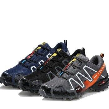 Men Hiking Shoes Waterproof Non-slip Camping Travel Sport Climbing Shoes Outdoor Trekking Sneakers Men Plus Size 48