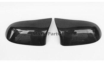 For BMW X5M F85 X6M F86 Carbon Fiber Rearview Mirror Cover Cap 2015-2020  B699 1