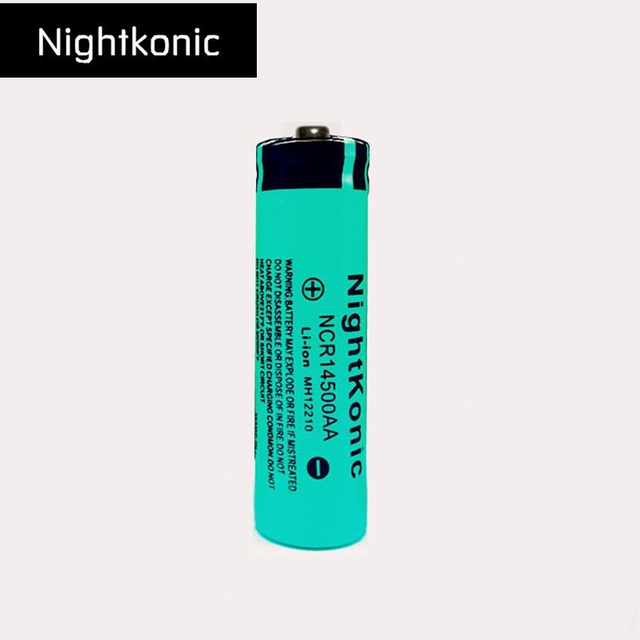 Nightkonic 14500 3.7V Li-ion Battery